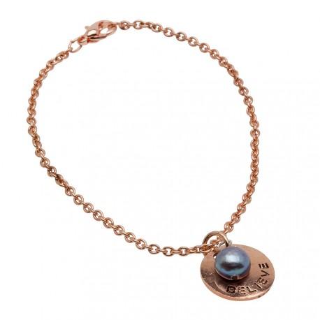 Holly Bracelet in Rose-Gold