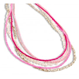 Marnie Necklace in Pink