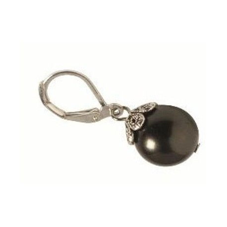 Kathleen Earring in Black