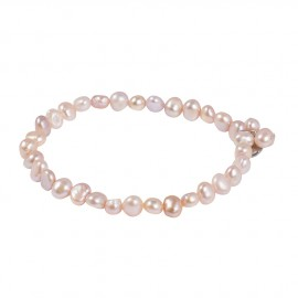 Julianna Bracelet in Pink Pearls
