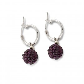 Aretha Earring in Purple