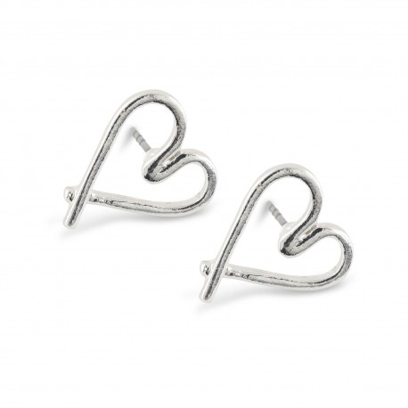 Herta Earrings in Silver