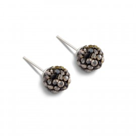 Lisa Earring in Dark Grey