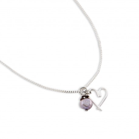 Alma Necklace in Purple