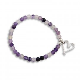 Vivianne Bracelet in Purple