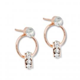 Nellie Earrings in Rose Gold