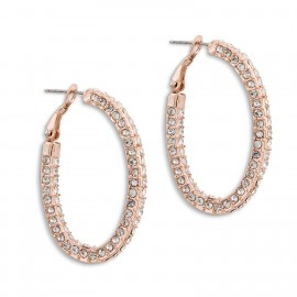 Beyonce Earrings in Rose-Gold