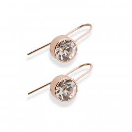 Quinn Earrings in Rose Gold