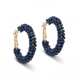 Tori Earrings in Royal Blue