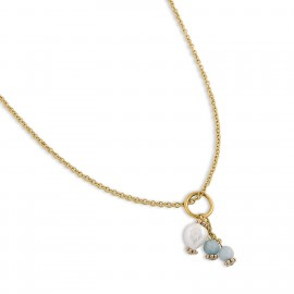 Camryn Necklace in Blue