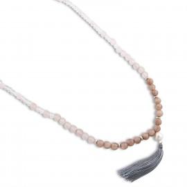 Kalinda Necklace in Pink