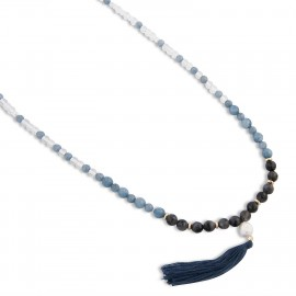 Kalinda Necklace in Blue