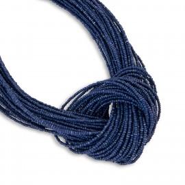 Paris Necklace in Navy Blue