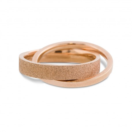 Karmela Ring in size 9 - Rose-Gold