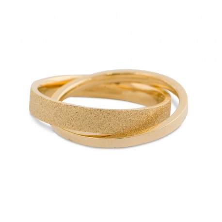 Karmela Ring in size 7 - Gold