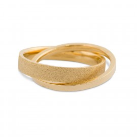 Karmela Ring in size 8 - Gold