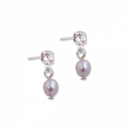 Tamara Earring in Pastel Purple