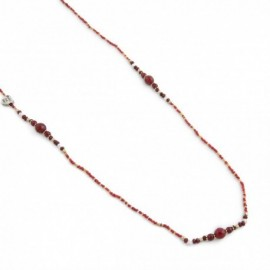 Gracie Necklace in Red