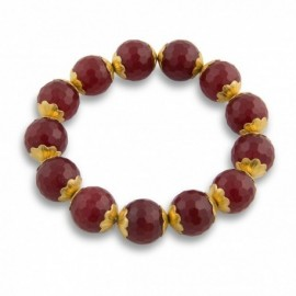Neesha Bracelet in Red and Gold