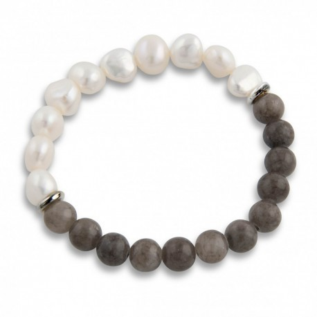 Renata Bracelet in Warm Grey