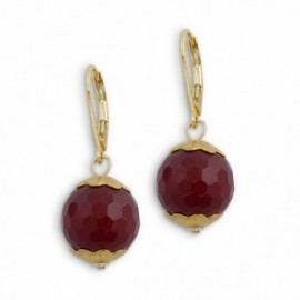 Libby Earring in Red