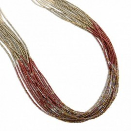 Adira Necklace in Reddish Earthtones
