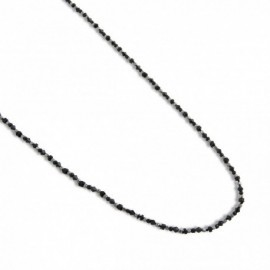 Calla Necklace in Black
