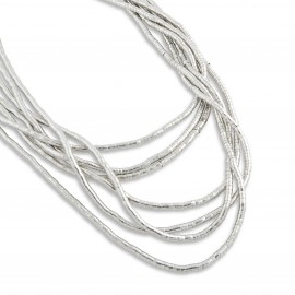 Kyah Necklace in Silver