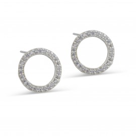 Lexus Earring in Silver
