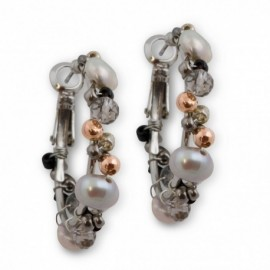 Anisha Earring in Grey
