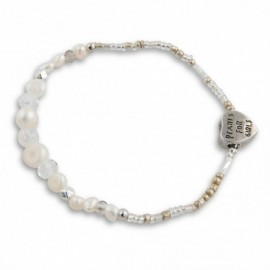 Gracie Bracelet in White