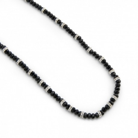 Evelina Necklace in Black