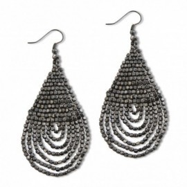 Caprice Earring in Anthracite
