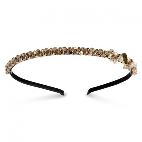Dazzel Headband in Gold