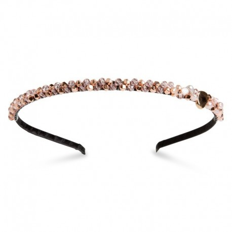 Dazzel Headband in Rose Gold