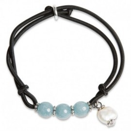Hair Tie in Blue Jade