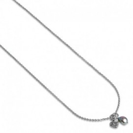 Tansy Necklace in Silver