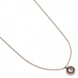 Bluma Necklace in Rose Gold