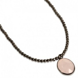 Noora Necklace in Pink