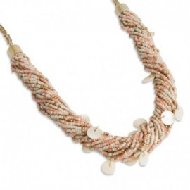 Gurdie Necklace in Peach