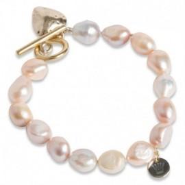 Ami Bracelet Gold Toggle