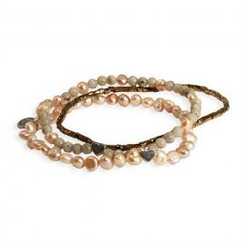 Janelle Triple Combo Bracelet