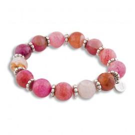 Delilah Bracelet in Pink