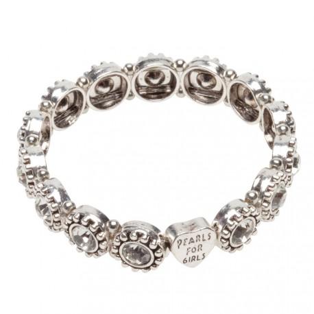 Olivia Bracelet in Silver