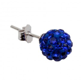 Lisa Earring in Royal Blue