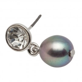 Madeleine Earring in Grey