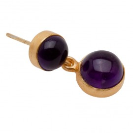 Peggy Earring in Purple