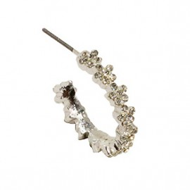 Beata Earring in Silver