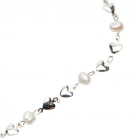 Riya Necklace in White