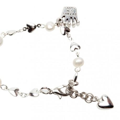 Riya Bracelet in White